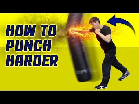 How to Punch HARDER & Throw! Execute a Knockout Punch Correctly