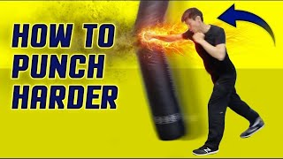Video How to Punch HARDER & Throw Execute a Knockout Punch Correctly MP3, 3GP, MP4, WEBM, AVI, FLV April 2019