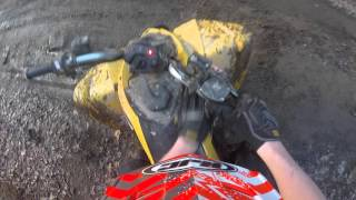 10. Can-am ds250 Rippin!