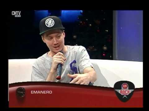Emanero video Entrevista CM Rock - Diciembre 2014