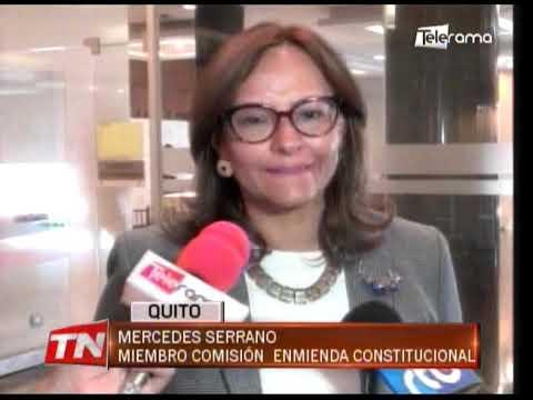 Comisión multipartidista recibe comparecencias para tramitar enmienda