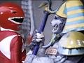 Red Ranger vs King Sphinx and Goldar (Mighty Morphin Power Rangers)
