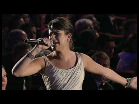 Lea Michele - Glee stars Matthew Morrison & Lea Michele perform All I Need is the Girl and Don't Rain on my Parade respectively, at the 2010 Tony Awards. Bonus Sean Hayes ...