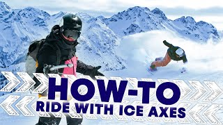 How to Ride with Ice Axes w/ Xavier de le Rue | Shred Hacks E4 by Red Bull