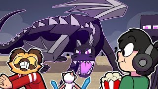 Video Me & The Boys BEATING THE ENDER DRAGON in Minecraft! ~ Funny Minecraft MP3, 3GP, MP4, WEBM, AVI, FLV Agustus 2019
