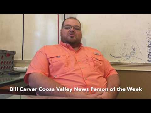 Coosa Valley News Person of the Week - Billy Carver