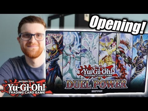Yu-Gi-Oh! Duel Power Opening & Discussion! 2 Box Unboxing!