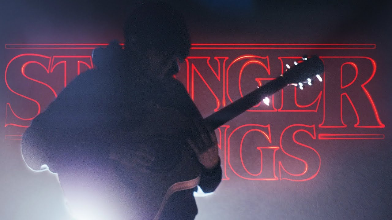 Stranger Things Main Theme Song on Guitar