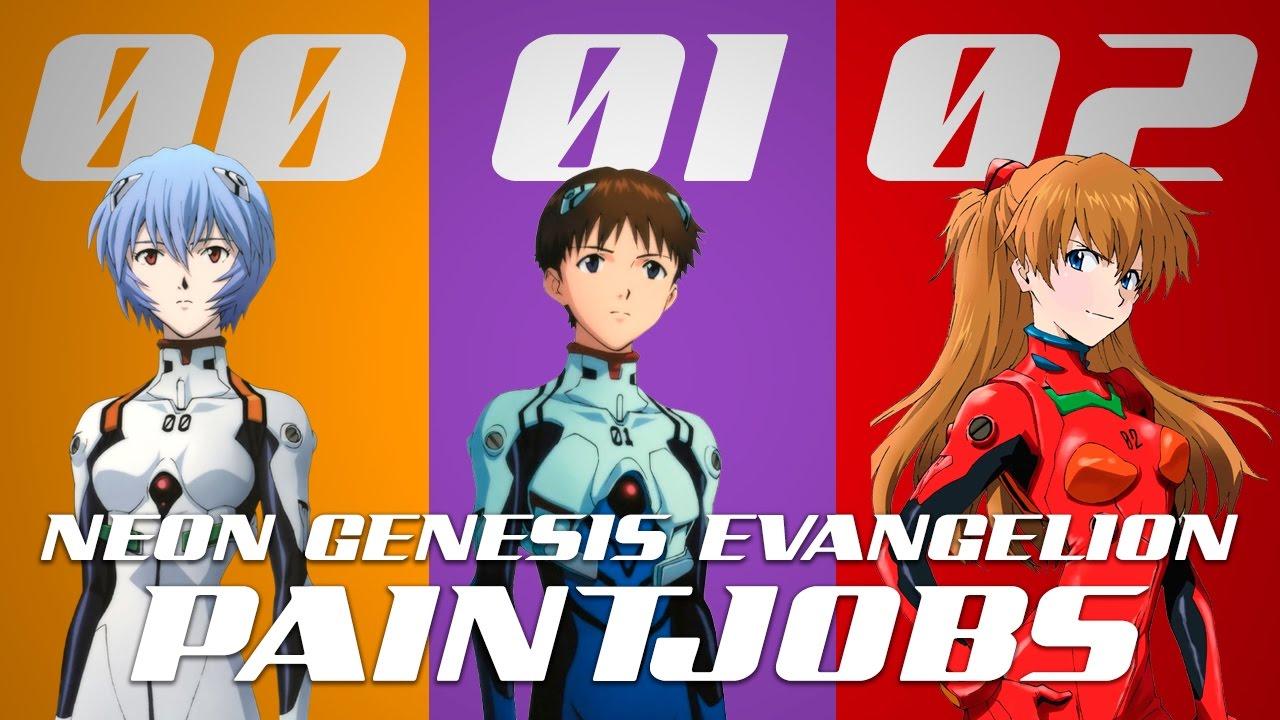 Neon Genesis Evangelion Paintjobs