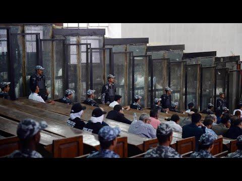 Ägypten: 75 Mursi-Anhänger wurden zum Tode verurteilt