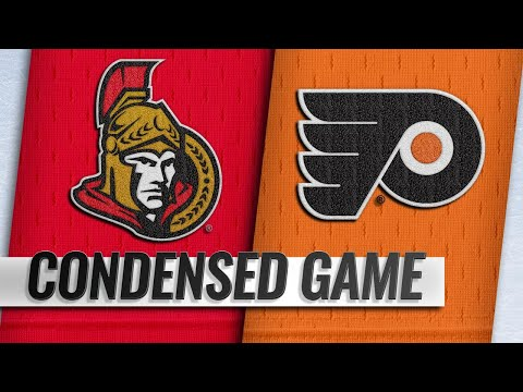 03/11/19 Condensed Game: Senators @ Flyers