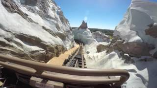 Expedition Everest Roller-Coaster POV Disney's Animal Kingdom Walt Disney World