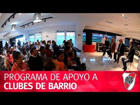 Programa de apoyo a Clubes de Barrio