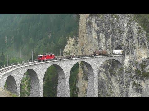 Traumhafte Schweizer Bahnstrecken 2013 | Gorgeous railway lines in Switzerland