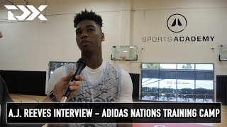 A.J. Reeves Interview - Adidas Nations Training Camp