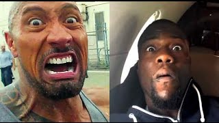 Video The Rock & Kevin Hart Impersonate each other! MP3, 3GP, MP4, WEBM, AVI, FLV Januari 2018