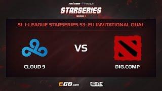 Cloud 9 vs Digital Company, Game 2, SL i-League StarSeries Season 3, EU