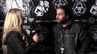 Red Carpet interview with Brian Tichy!