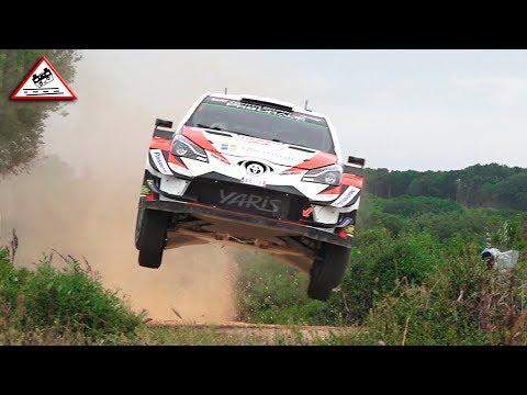Best of Action WRC Rallye Sardegna 2018 [Passats de canto]