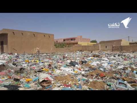 مشاهد صادمة من حجم تكدس القمامة في بتلميت – فيديو