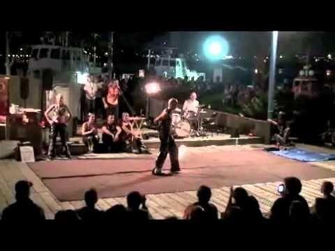 Awesome Thomas Johansson – Fire Poi Freestyle with Wild Marmalade, Halifax, Canada 2010