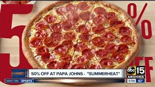 Save money on Chipotle, Dairy Queen, pizza and more.