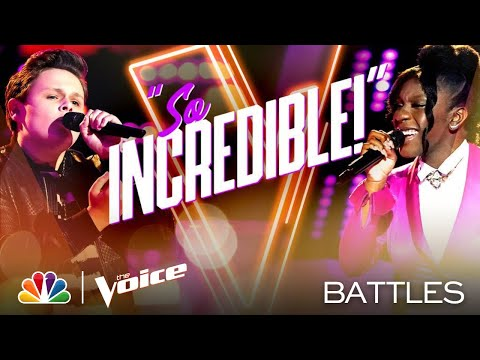 "Carter Rubin vs. Larriah Jackson - Meghan Trainor's ""Like I'm Gonna Lose You"" - Voice Battles 2020"