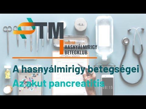 A hasnyálmirigy betegségei - Az akut pancreatitis