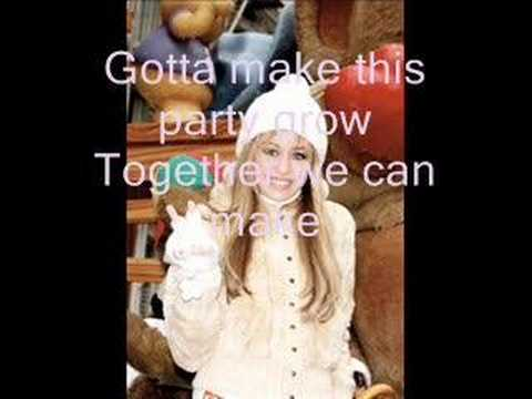 lilmooprincess1994 - Hannah Montana Pumpin' up the Party now with lyrics Hey Get up Get loud Start pumpin' up the party now [x2] It's the same old, same grind But we don't feel w...
