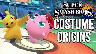 Super Smash Bros. Costume Origins – Pokemon Series