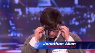 Video Most Emotional Audition Ever!! Jonathan Allen, Americas Got Talent MP3, 3GP, MP4, WEBM, AVI, FLV Februari 2018