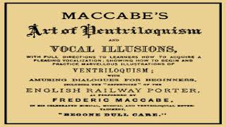 Maccabe's Art of Ventriloquism and Vocal Illusions | Frederic Maccabe | Crafts & Hobbies | 2/2