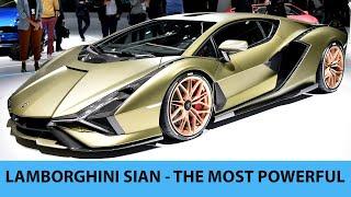 Siêu xe Lamborghini Sian mạnh nhất lịch sử và 6 điều đặc biệt
