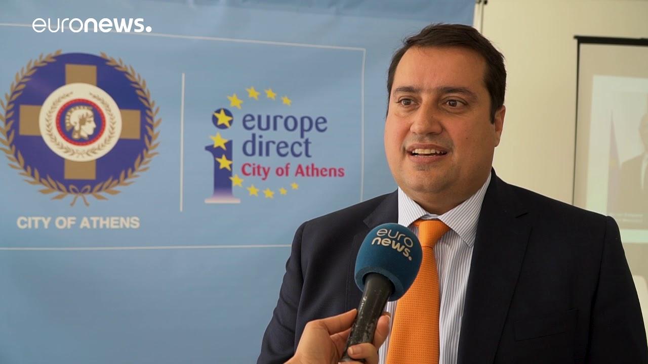 Ο Νίκος Αυλώνας στο Euronews.