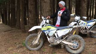 4. Ride Impression: 2016 Husqvarna FE350
