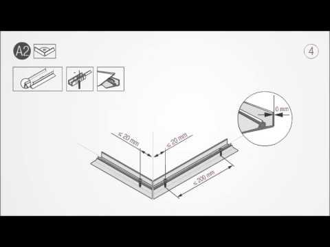 RAUWALON Perfect-Line Wall Seal Profile