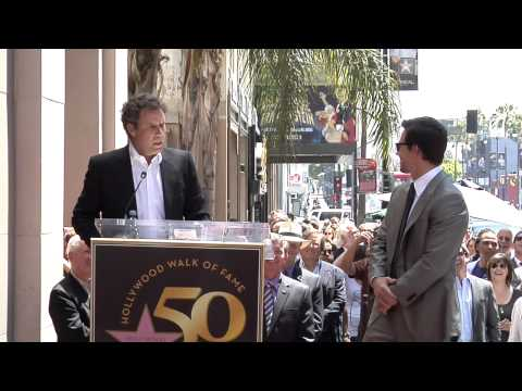 Mark Wahlberg Walk of Fame Ceremony
