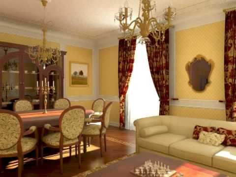 interior 3d animation - flat in Rome Italy http://archiviz.wordpress.com.