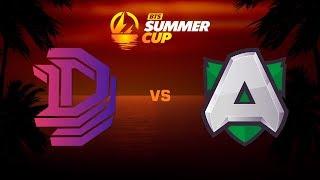 Double Dimension против Alliance, Первая карта, BTS Summer Cup