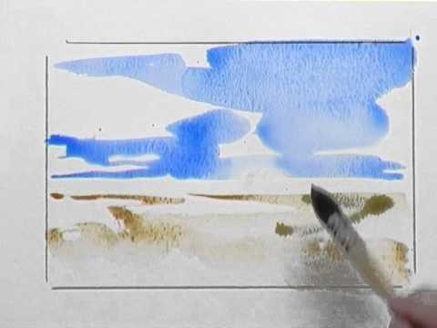 Bettags Malschule – Mein erstes Aquarell – Landschaft