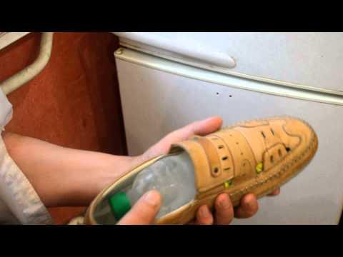 Как в домашних условиях растянуть тесную обувь в домашних условиях