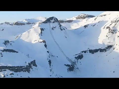 Κραν Μοντανά: Χιονοστιβάδα «έθαψε» σκιέρ