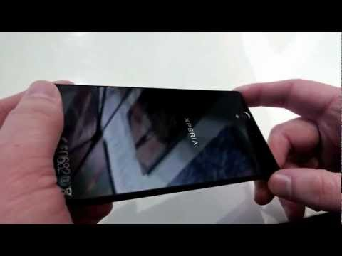 Sony Xperia Z - hands on