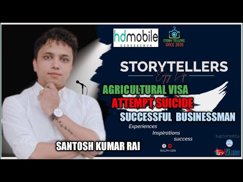 StoryTellers in South Korea with Santosh  Kumar Rai