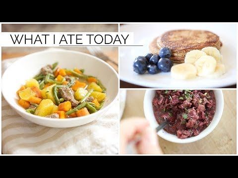 WHAT I EAT IN A DAY | healthy sugar-free & paleo meals ideas
