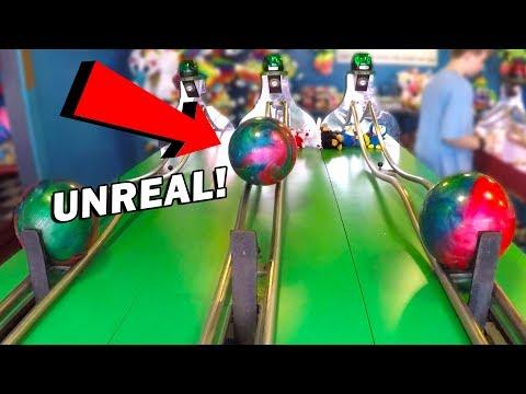 OMG! Look What Happened at Bowler Roller! | Carnival Games w/ Matt3756