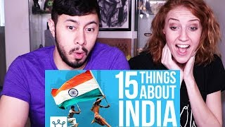 Video 15 THINGS YOU DIDN'T KNOW ABOUT INDIA   Reaction! MP3, 3GP, MP4, WEBM, AVI, FLV Maret 2019