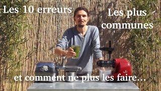 Thierry CASASNOVAS, les 10 erreurs les plus communes