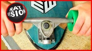 Fix Noisy Squeaky Skateboard/Longboard Trucks
