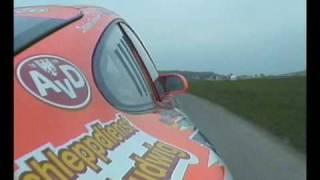 onboard olaf dobberkau porsche 911 gt3, rallye vogelsberg 09